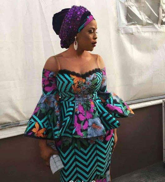 Most Attractive Ankara Styles For Mature Ladies