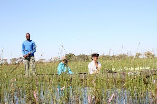 Botswana mokoro