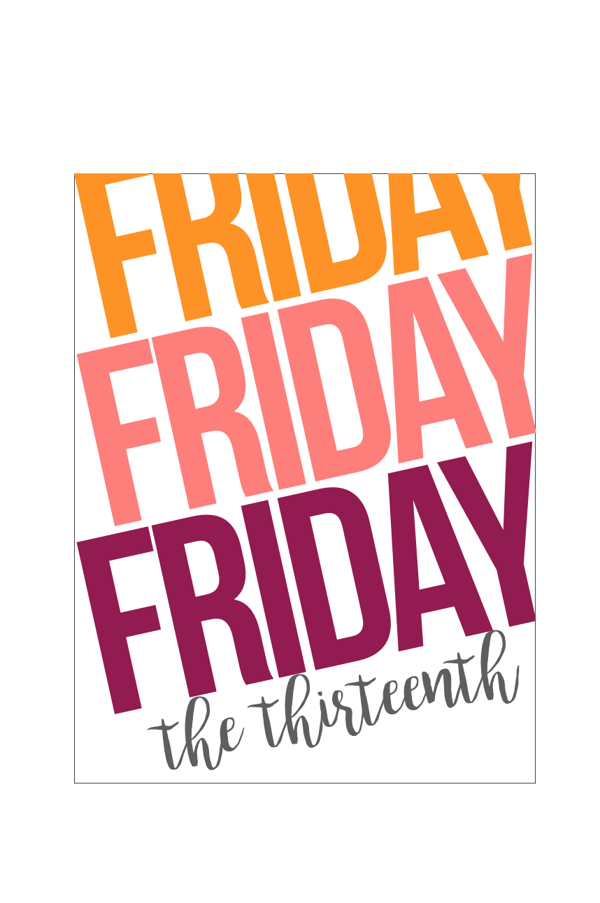 #free #friday #13th #thirteenth #printable #download #journaling #card