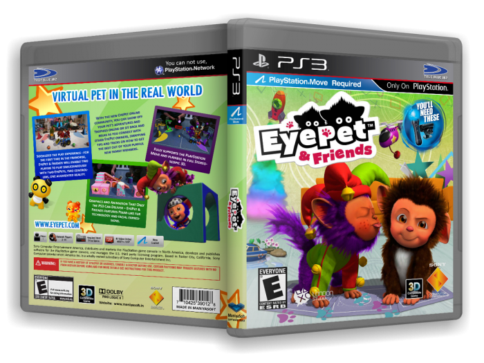 47682 eyepet friends - Download EyePet & Friends For PS3