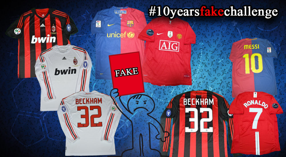the latest a11dd 29bf4 How To Spot Current & Classic Fake Football Kits | Detailed ...