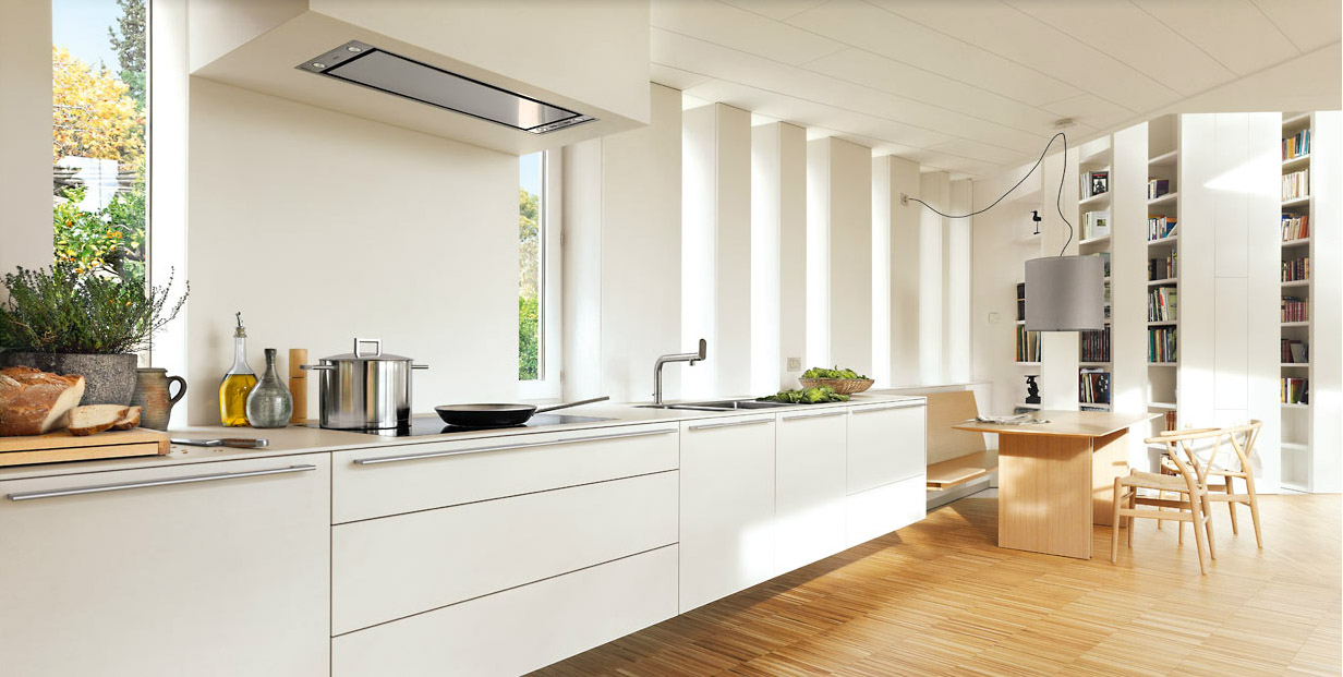 Modern Kitchens Designed With Wooden