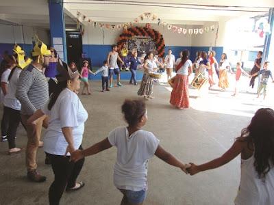 Organizações da Rede Cananéia participam de comemoração pelos 14 anos do Programa Escola da Família da Escola Yolanda