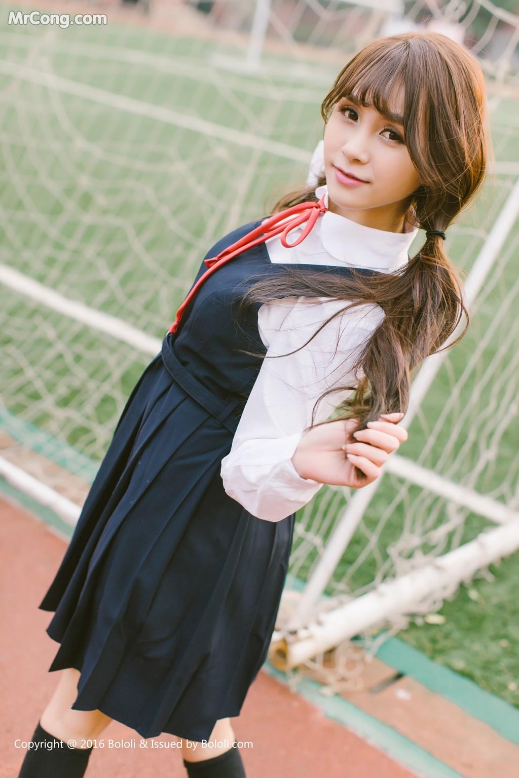 Image Tukmo-Vol.113-Xia-Mei-Jiang-MrCong.com-007 in post Tukmo Vol.113: Người mẫu Xia Mei Jiang (夏美酱) (63 ảnh)