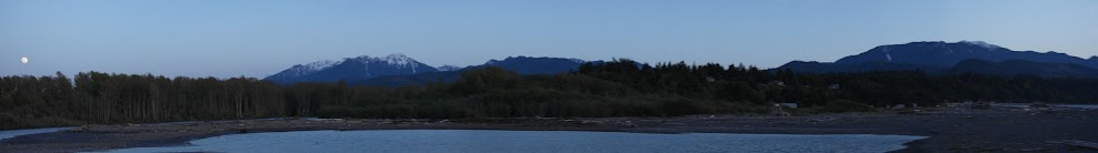elwha mouth panoramic