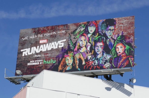 Runaways season 2 billboard