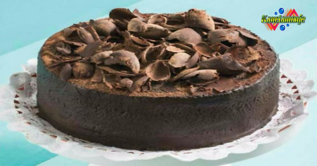 Pastel cuatro chocolates