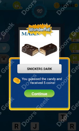 Answers, Cheats, Solutions for Guess the Candy Level 90 for android and iphone
