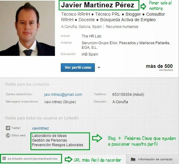 Javier Martínez Pérez LinkedIn