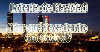 hablamos de la lotería de navidad en Madrid