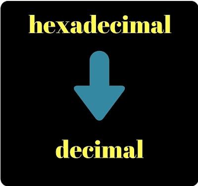 Belajar Java Konversi Hexadesimal Ke Desimal