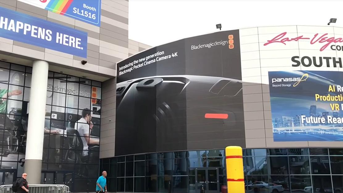 Реклама Blackmagic Pocket Cinema Camera 4K