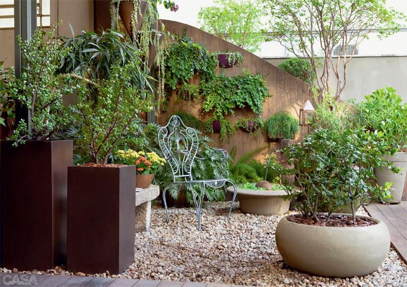 Foto Jardim Pequeno com Plantas Aromticas de Ana Camila
