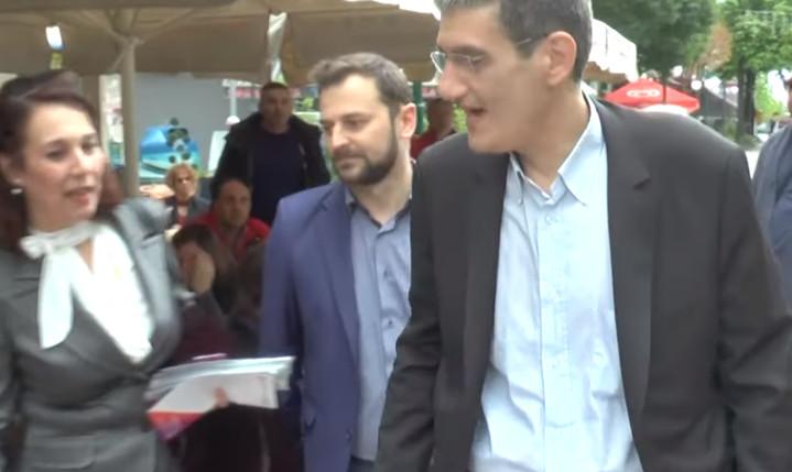 Άγριο κράξιμο στον Γιαννούλη στα Γιαννιτσά (Βίντεο)