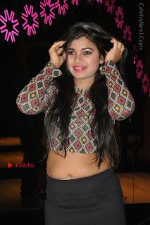 Indian Actress Model Naveena Jackson Latest Po Gallery in Black Mini Skirt  0019.JPG