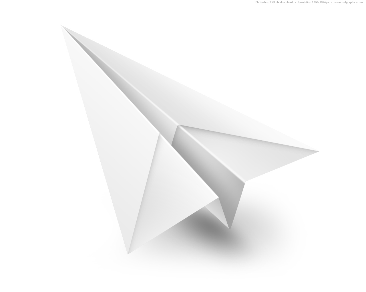 Order a paper airplane