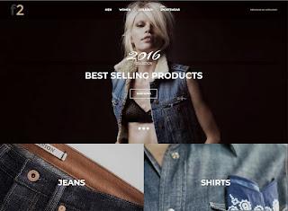 F2 – Fashion Boutique Template