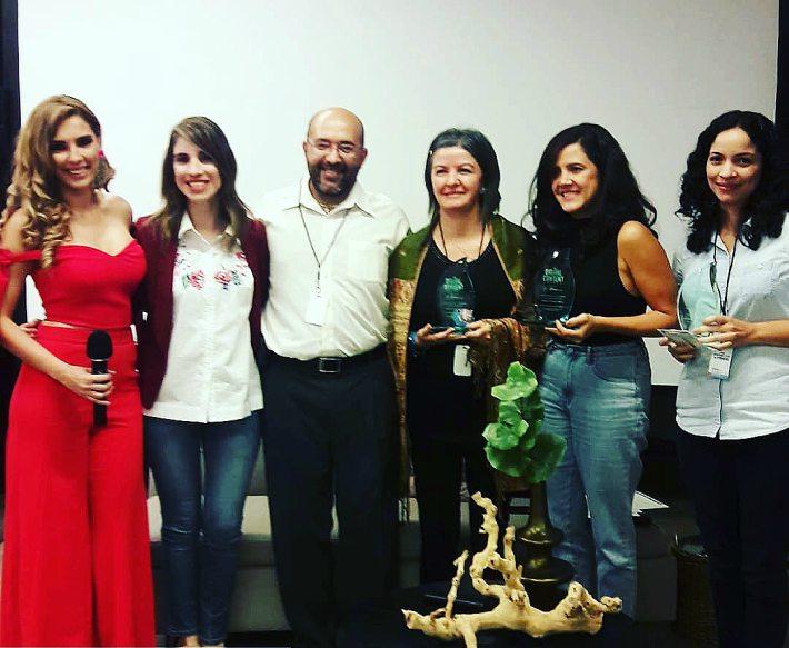Ganadoras de los Digital Content Awards, patrocinados por McDonals y Puerto Rico BloggerCon