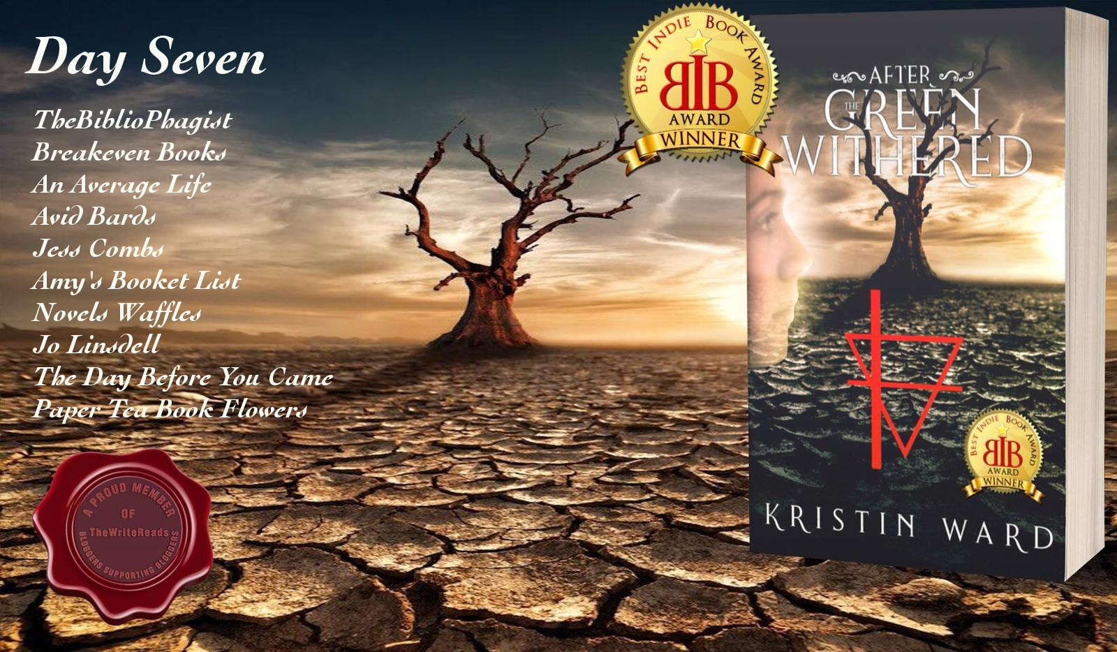 Book Spotlight: After the Green Withered by Kristin Ward #thewritereads #ultimateblogtours #afterthegreenwithered