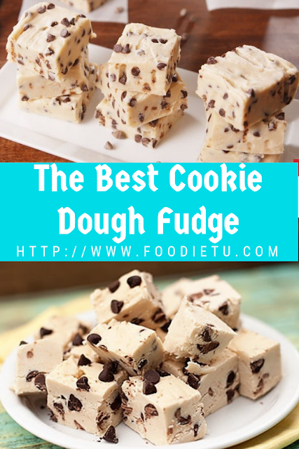 The Best Cookie Dough Fudge