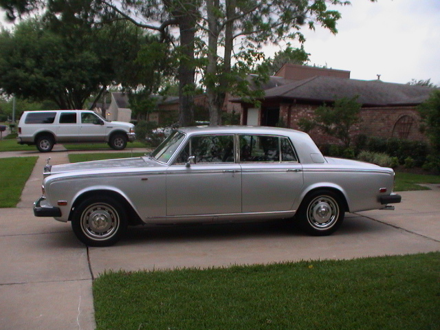 Things I Think I Think  1980 Rolls Royce Silver Shadow Ii