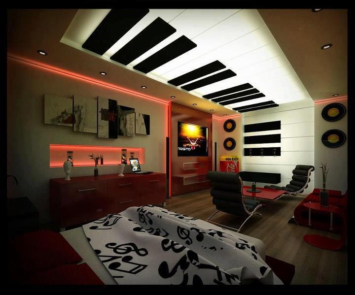 modern bedroom ceiling designs