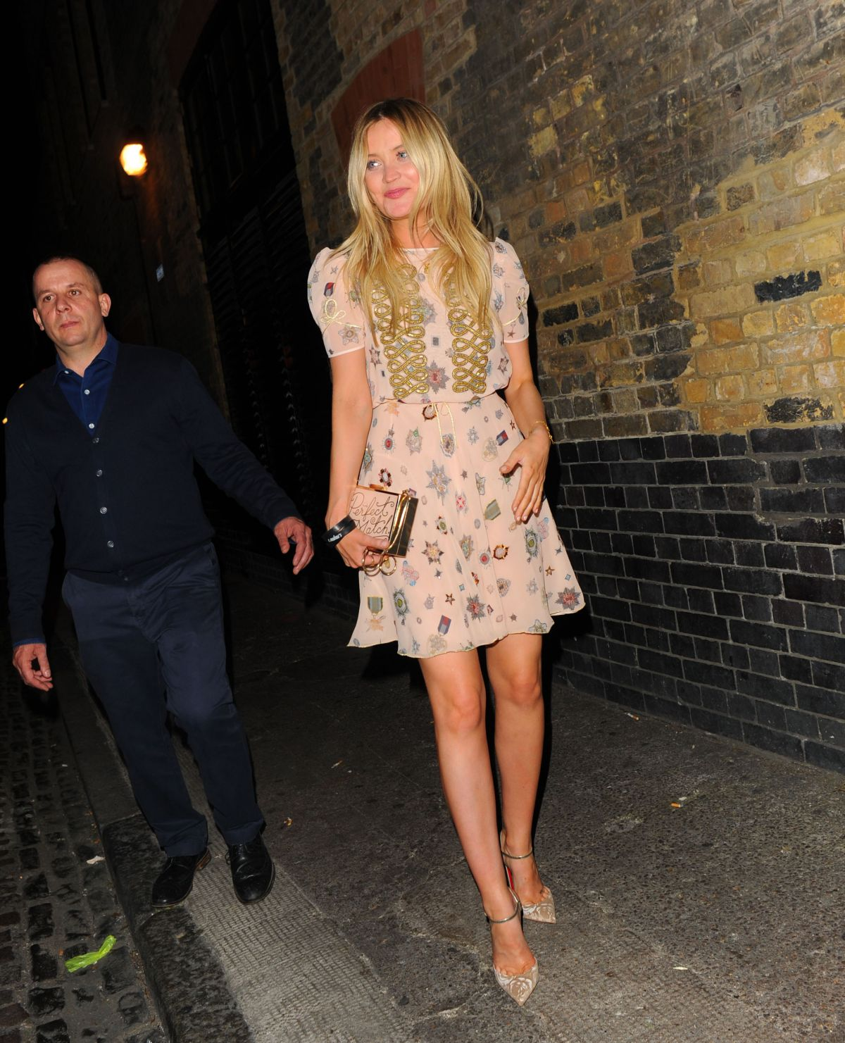 Laura Whitmore At Chiltern Firehouse In London