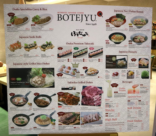 Botejyu now open in Ayala Malls Vertis North