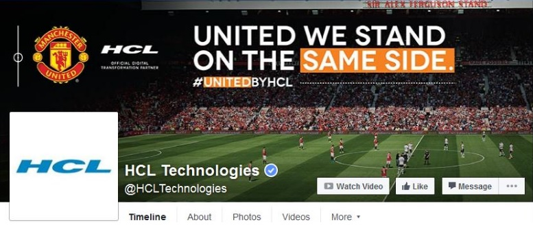 HCL technologies Facebook cover