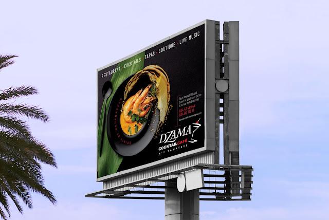Dzama Cocktail Café Tamatave