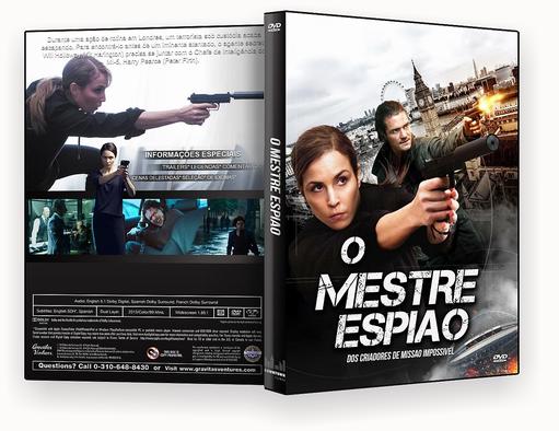 CAPA DVD – O Mestre Espiao Dublado – ISO