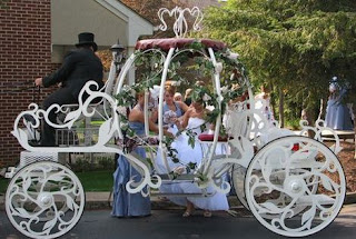 Enchanting Pumpkin Cinderella Wedding Carriages