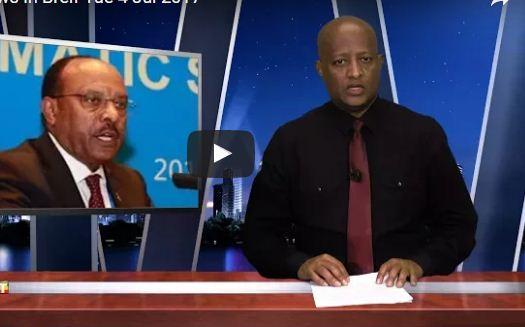 news in brief Ethiopian Jul 5, 2017