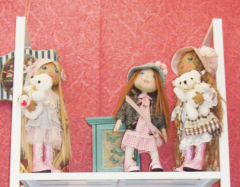"""выставка """"формула рукоделия"""" - текстильные куклы"""