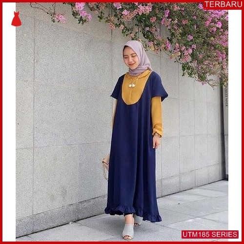 UTM185F108 Baju Fiandra Muslim Long Dewasa Tunik UTM185F108 0B9 | Terbaru BMGShop
