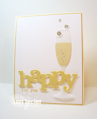 Happy for You card-designed by Lori Tecler/Inking Aloud-stamps from Winnie and Walter