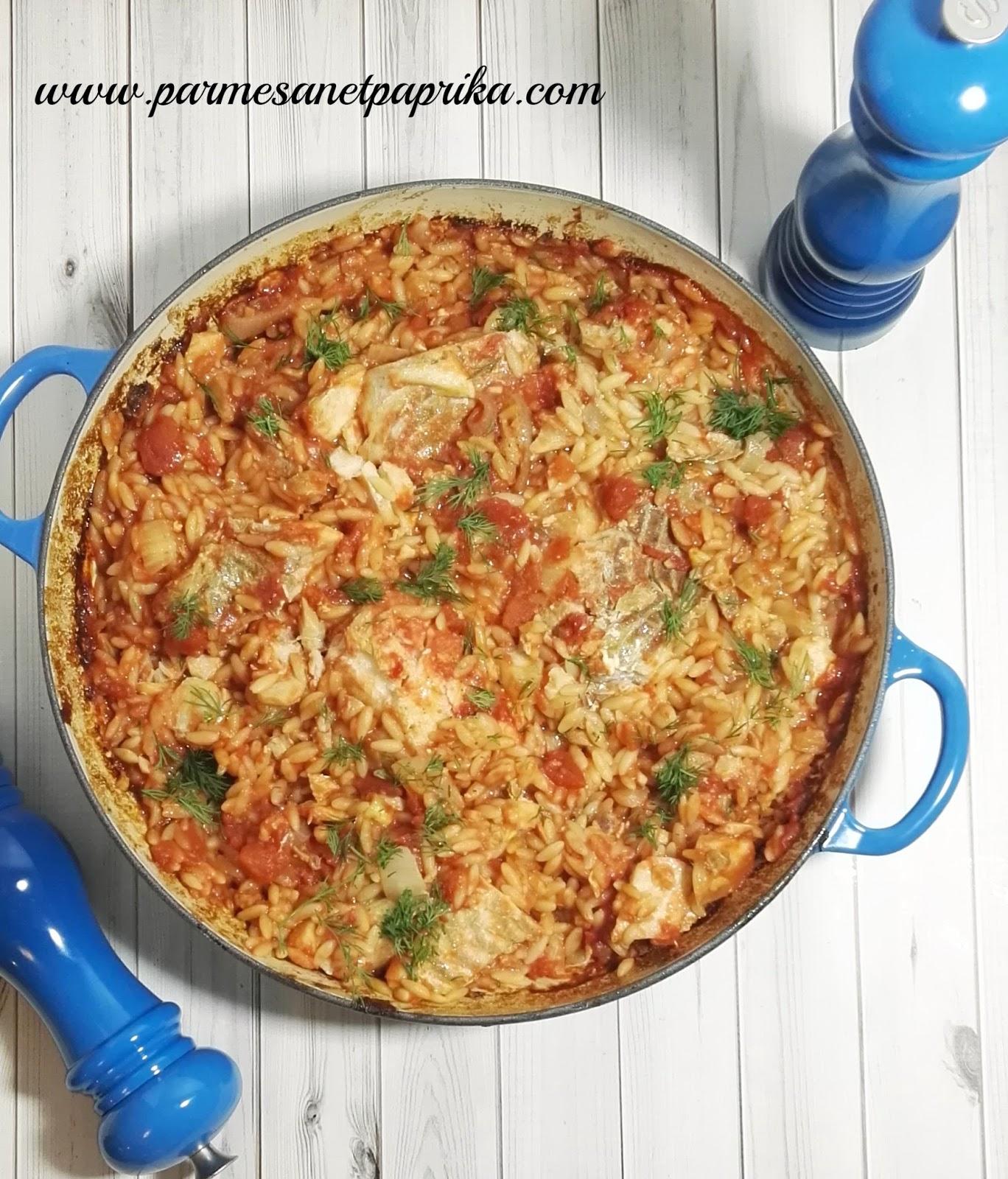 Cabillaud et petites p tes fenouil et ouzo parmesan et for Cabillaud fenouil