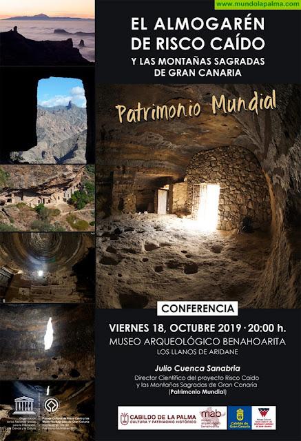 El Museo Arqueológico Benahoarita acoge una conferencia sobre Risco Caído
