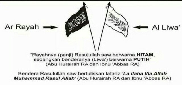 Perbedaan Al-Liwa Dan Ar-Rayyah
