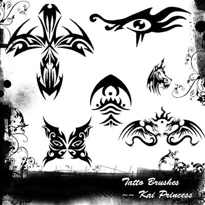 Pinceles De Tatuajes Para Photoshop Descarga Gratis