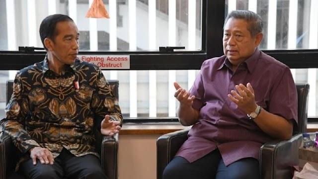 Dikabarkan Pindah Dukungan, Ini Obrolan Rahasia SBY dan Jokowi.