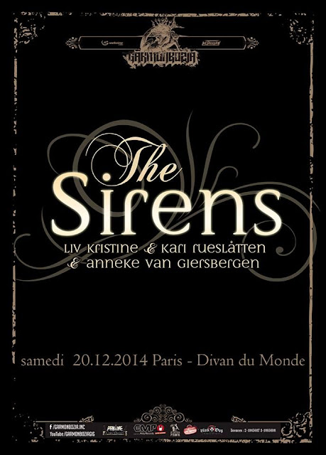 The Sirens @Divan du Monde, Paris 20/12/2014