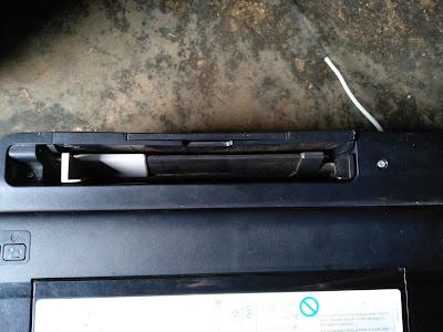 Membuat Selang Pembuangan Tinta Epson L110