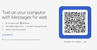 Cara Kirim SMS Melalui PC Menggunakan Android Messages