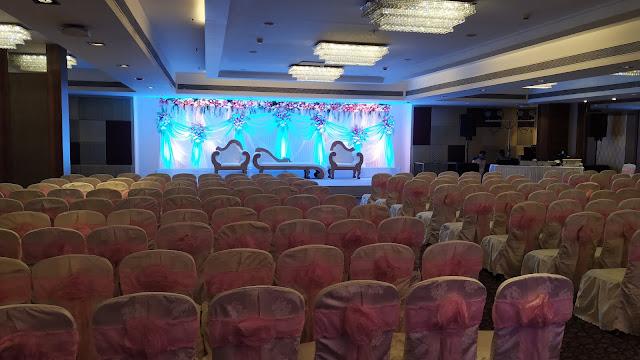 Chair sitting arrange banquet