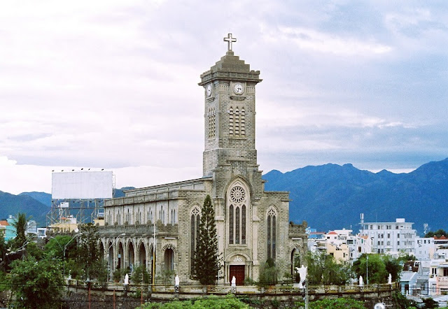 Unique architectural works Stone church in Nha Trang  1