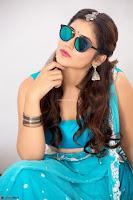 Marathi Actress Priyanka Jawalkar Sizzles In stunning Blue Half Saree ~ Exclusive 006.jpg
