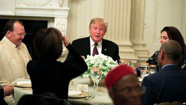 Trump Menjadi Tuan Rumah Buka Puasa Ramadhan di Gedung Putih
