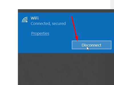 Disconnect the internet to bypass the login