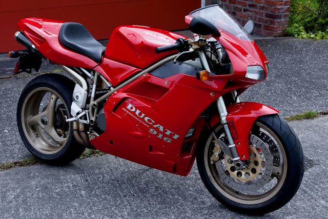 Ducati 916 1990s Italian motorcycle